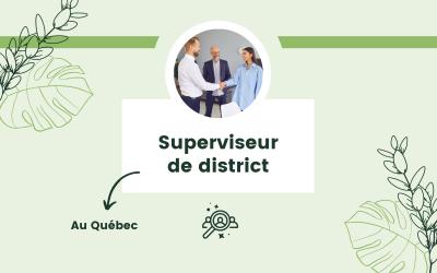 Superviseur de district