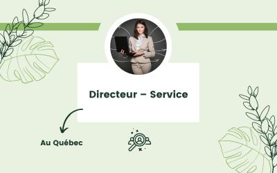 Directeur – Service