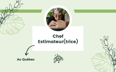 Chef Estimateur(trice)
