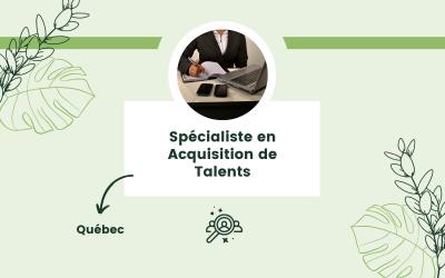 Spécialiste en Acquisition de Talents
