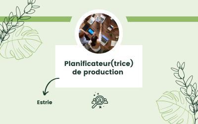 Planificateur(trice) de production
